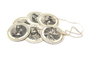 Բաժակի տակդիրներ «Հայոց Թագավորներ», սպիտակ AF115