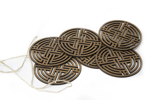 "Coasters ""Ornament"" AF027"