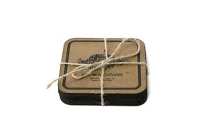 Բաժակի տակդիրների հավաքածու «Գինու սիրահարների համար» AF010