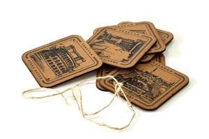 """Coasters """"Yerevan"""" AF009"""