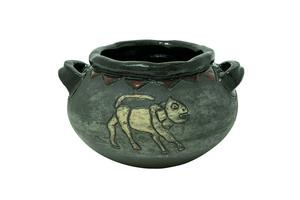 Глиняный горшок AA002