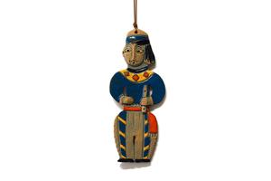 Կախովի կավե ձեռագործ արձանիկ «Տարազով տղամարդը» LS008