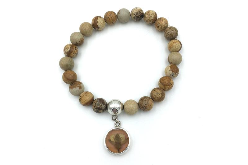 Bracelet with natural stones GJ002 photo