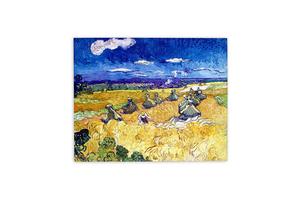 Վինսենթ վան Գոգ «Ցորենի դեզ և հնձվոր» AF085