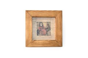 Տպագրված նկար «Ճանապարհորդող կինը», GM008