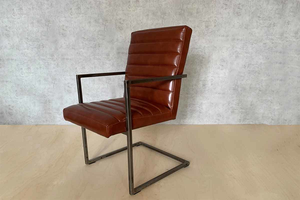 Աթոռ արհեստական կաշվից AF159