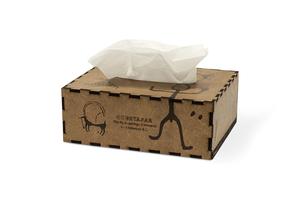 Անձեռոցիկների տուփ «Ուխտասարի ժայռապատկերներ» AF022