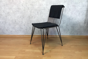 Աթոռ արհեստական կաշվից AF179