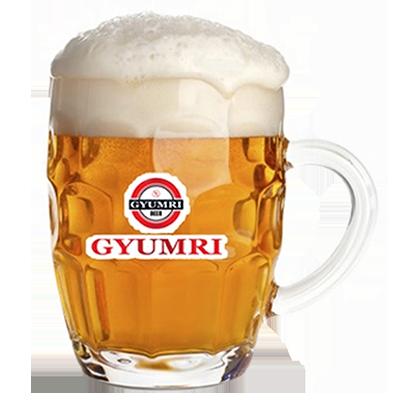 """Разливное пиво """"Гюмри"""" 1л."""